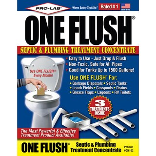 Pro Lab ON102 3-count One Flush Septic & Plumbing Treatment Concentrate