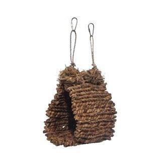 Prevue Pet Products Brown Sea Grass Bird Snuggle Hut