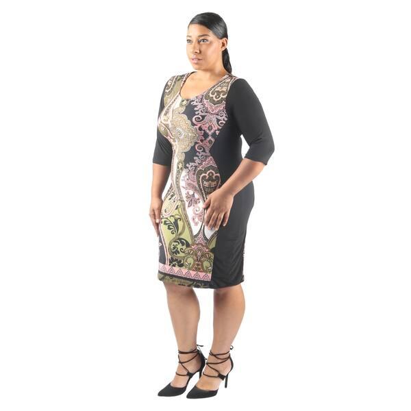 Shop Hadari Women\'s Plus Size Short Sleeve Scoop Neck ...