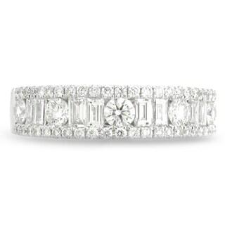 Azaro 18k White Gold 1ct TDW Channel-set Diamond Fashion Band (G-H, SI1-SI2)