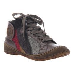 Women's OTBT Providence Sneaker Grey Tin Leather/Fabric