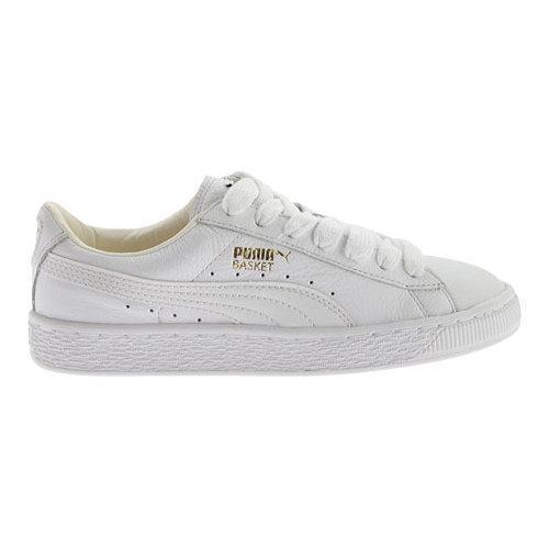 puma basket classic lfs sneaker ($55) in white