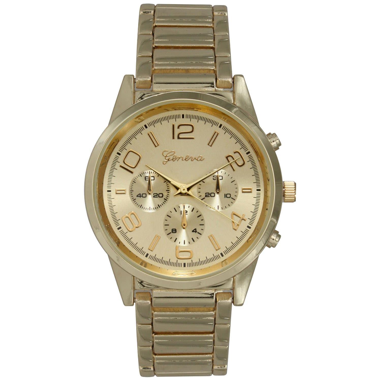 Olivia Pratt Women's Basic Stainless Steel Stylish Watch