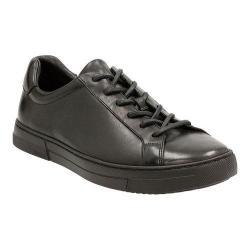 Men's Clarks Ballof Up Sneaker Black Leather