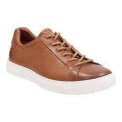 Men's Clarks Ballof Up Sneaker Tan Leather