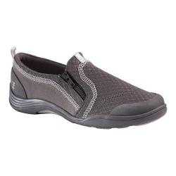Women's Grasshoppers Elite Zip Slip-On Grey Mesh