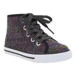 Girls' Nina Franny Sneaker Black Shimmer