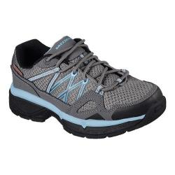 Women's Skechers Work Relaxed Fit Conroe Abbenes ESD Oxford Gray/Blue