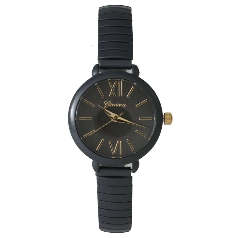 Olivia Pratt Petite Colorful Metal Stretchband Watch