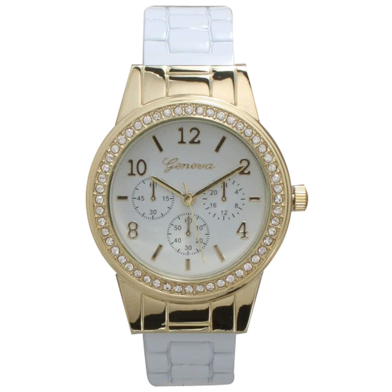 Olivia Pratt Women's Gorgeous Rhinestone-accented Watch