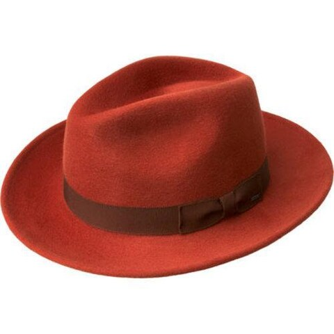 Men's Bailey of Hollywood Criss Wide Brim Hat 71001BH Paprika