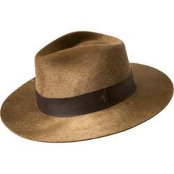 Men's Bailey of Hollywood Hillman Fedora 38341BH Coffee Beige String Swirl