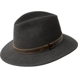 Men's Bailey of Hollywood Kinnon Fedora 37174BH Black Mix