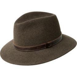 Men's Bailey of Hollywood Kinnon Fedora 37174BH Woodland Mix