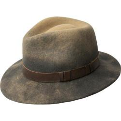 Men's Bailey of Hollywood Wescoat Fedora 70609BH Camel/Basalt/Ombre