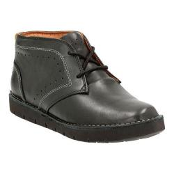 Women's Clarks Un.Astin Chukka Boot Black Cow Full Grain Leather
