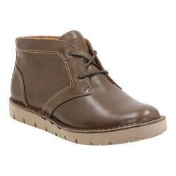 Women's Clarks Un.Astin Chukka Boot Khaki Cow Full Grain Leather