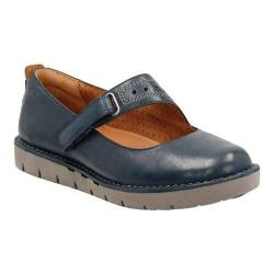 Women's Clarks Un.Briarcrest Mary Jane Navy Cow Full Grain Leather