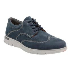 Men's Clarks Un.Byner Way Wing Tip Navy Cow Nubuck