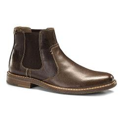 Men's Dockers Badger Twin Gore Boot Red Brown Burnished Full Grain Leather
