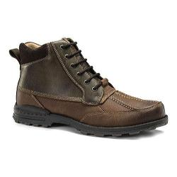 Men's Dockers Lakewood Hiking Boot Brown/Briar Oiled Tumbled Full Grain Leather