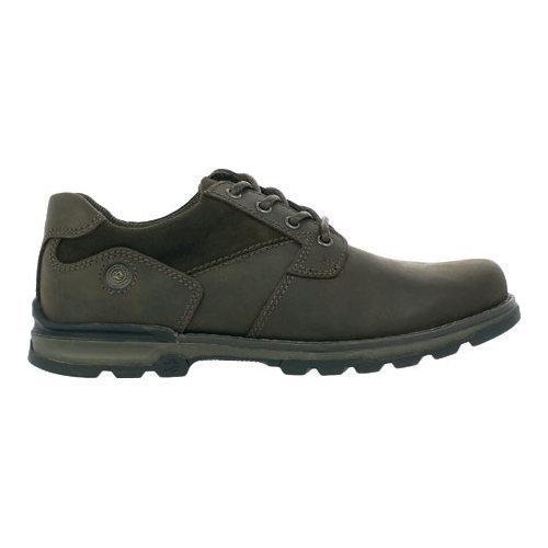 Men's Nunn Bush Phillips Plain Toe Brown Leather