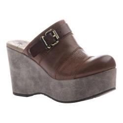 Women's OTBT Journey Mule Acorn Leather