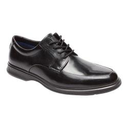 Men's Rockport Dressports 2 Lite Apron Toe Oxford Black Leather