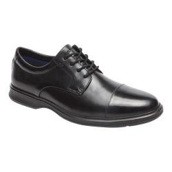 Men's Rockport Dressports 2 Lite Cap Toe Oxford Black Leather