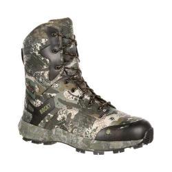 Men's Rocky 8in Broadhead Waterproof Outdoor Boot Venator Camo Ripstop Fabric