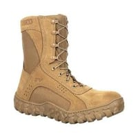 Rocky 8in S2V Steel Toe Flight Boot Coyote Brown Nylon/Leather