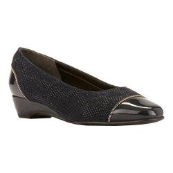 Women's Rose Petals by Walking Cradles Bonjour Pump Navy Teardrop/Patent