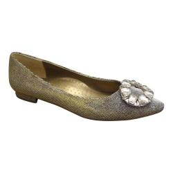 Women's VANELi Stevie Flat Gold Galassia Fabric