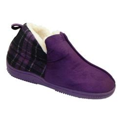 Women's Vecceli Italy VE-86W Bootie Slipper Purple