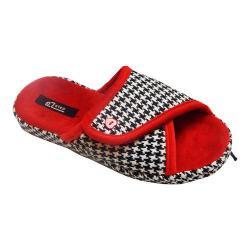 Women's Vecceli Italy VE-91 Knit Slipper Red