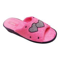 Women's Vecceli Italy VE-98 Wedge Slipper Pink