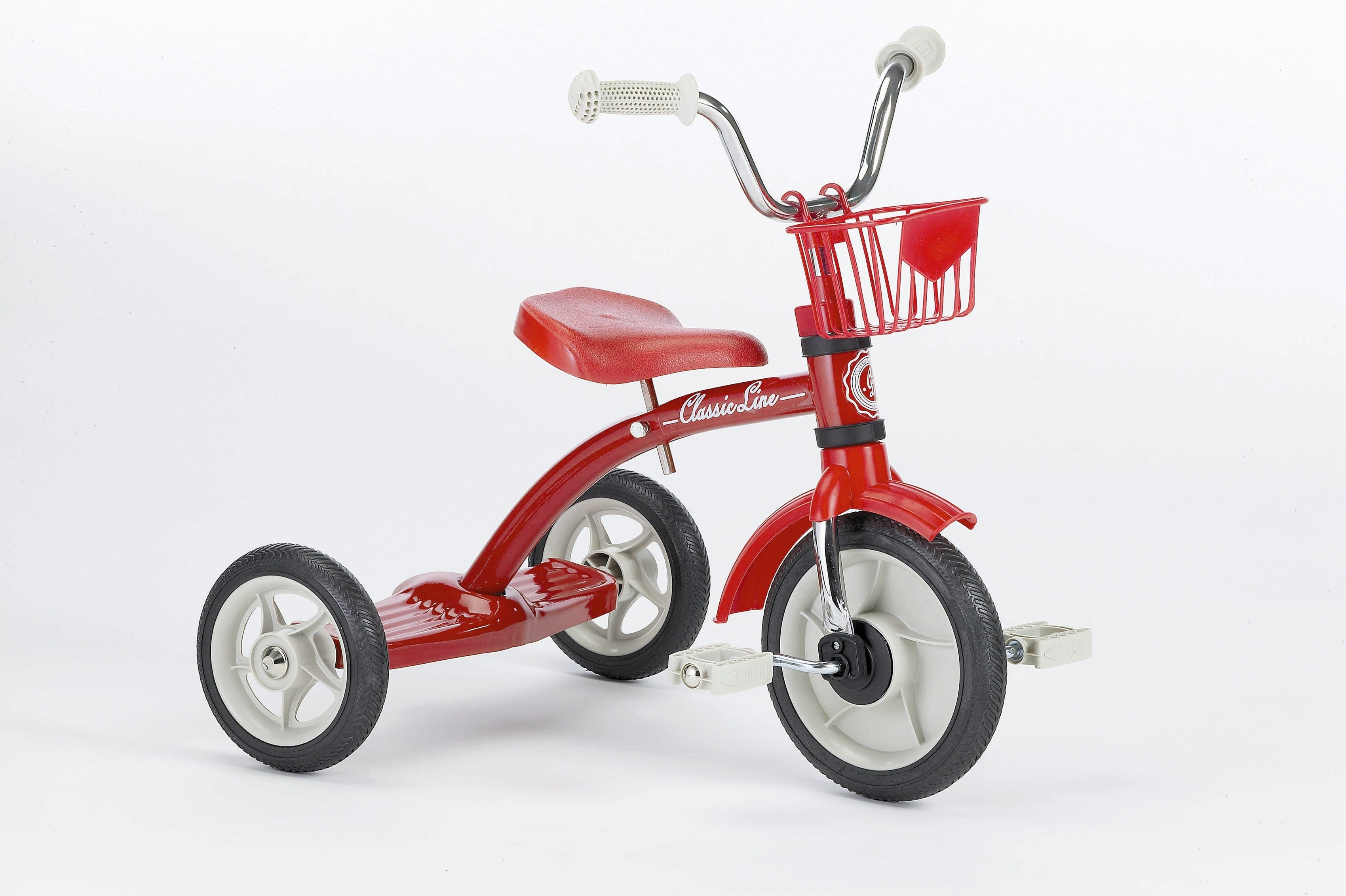 Italtrike Super Lucy Red Steel Tricycle