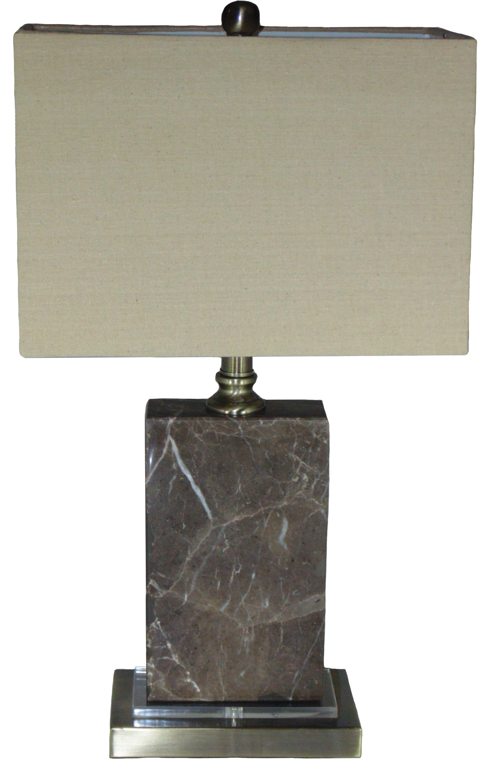 Celia Marble and Crystal Table Lamp