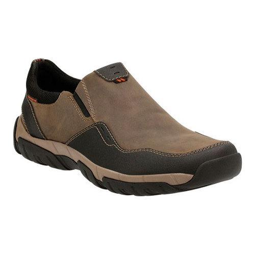 cf7903dc268 Shop Men s Clarks Walbeck Style Slip-on Sneaker Olive Waterproof Leather -  Free Shipping Today - Overstock - 12372503