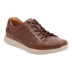 Men's Clarks Un.Lomac Lace Sneaker Tan Cow Full Grain Leather