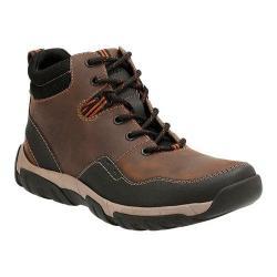 Men's Clarks Walbeck Top Ankle Boot Brown Waterproof Leather