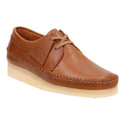 Men's Clarks Weaver Moccasin Tan Leather