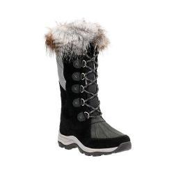 Women's Clarks Wintry Hi Waterproof High Boot Black Cow Suede/Nubuck