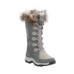 Women's Clarks Wintry Hi Waterproof High Boot Grey Cow Suede/Nubuck