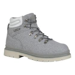 Men's Lugz Grotto Peacoat Work Boot Charcoal/Glacier Textile