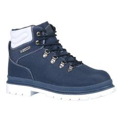 Men's Lugz Grotto Ripstop Work Boot Navy/White Textile