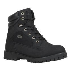 Men's Lugz Tactic WR Work Boot Black Durabrush