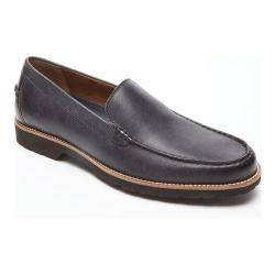 Men's Rockport Classic Move Venetian Loafer Black Leather