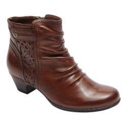 Women's Rockport Cobb Hill Abilene Ankle Boot Almond Leather
