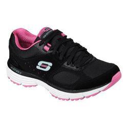 Women's Skechers Agility Ramp Up Black/Hot Pink